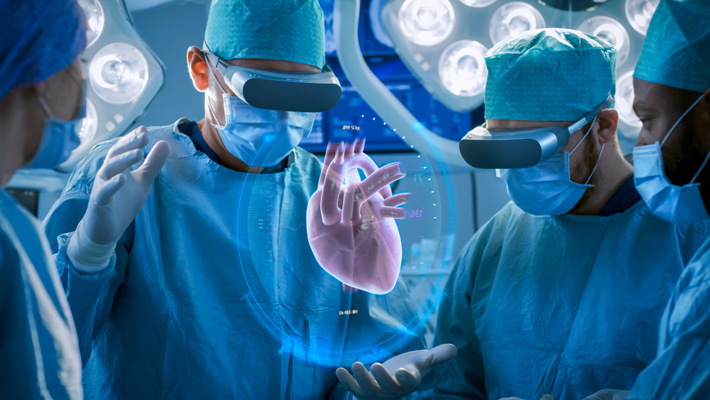 Virtuelle Realität hilft Chirurgen während einer Operation
