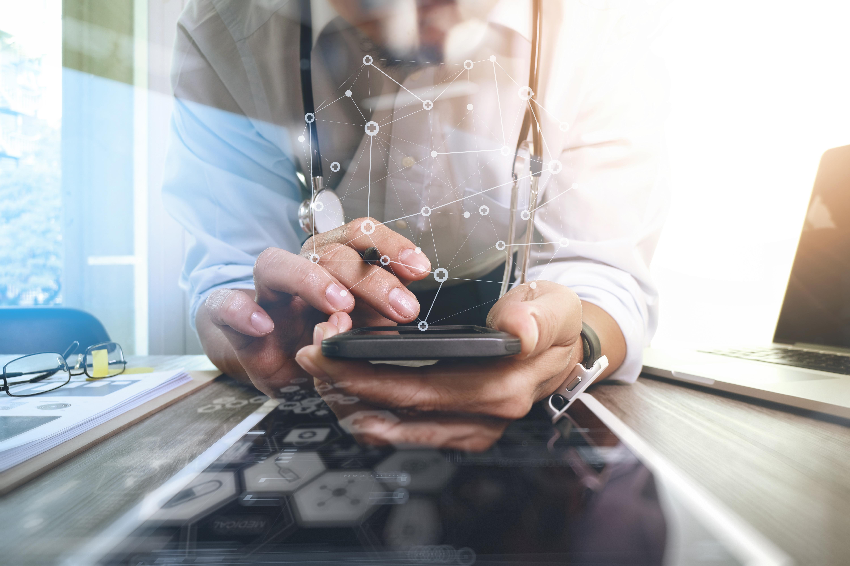 Smartphone liefert Daten