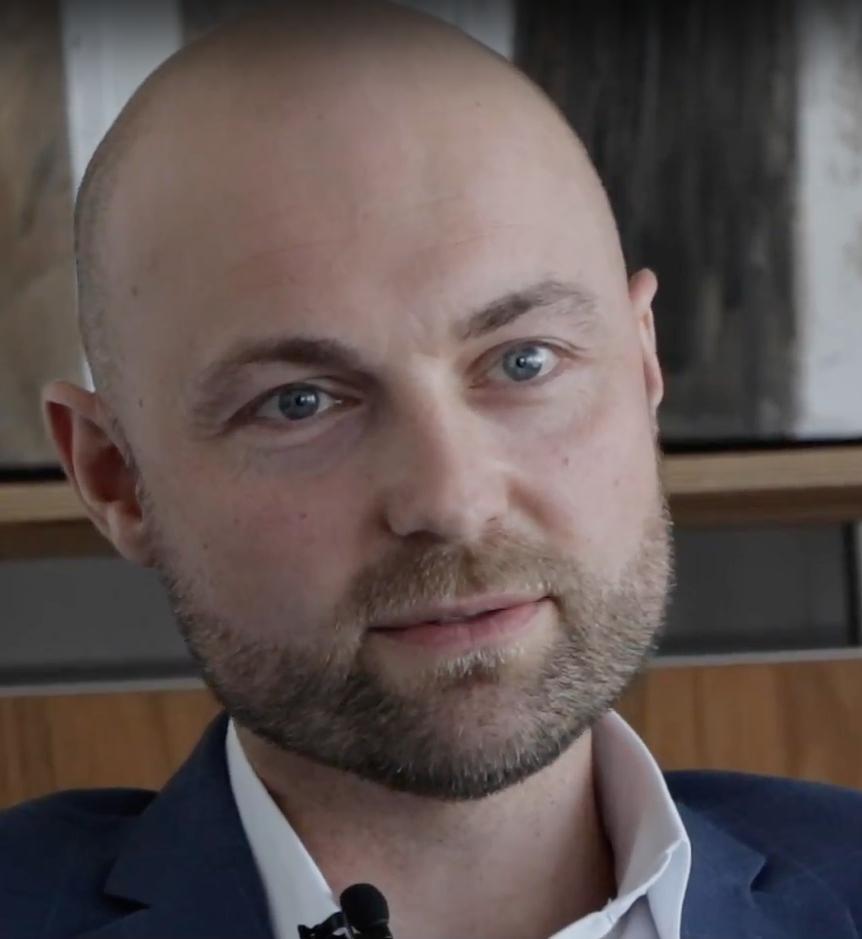 Hanno Härtlein, CEO Alcedis