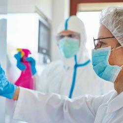 Plant-based coating against corona viruses