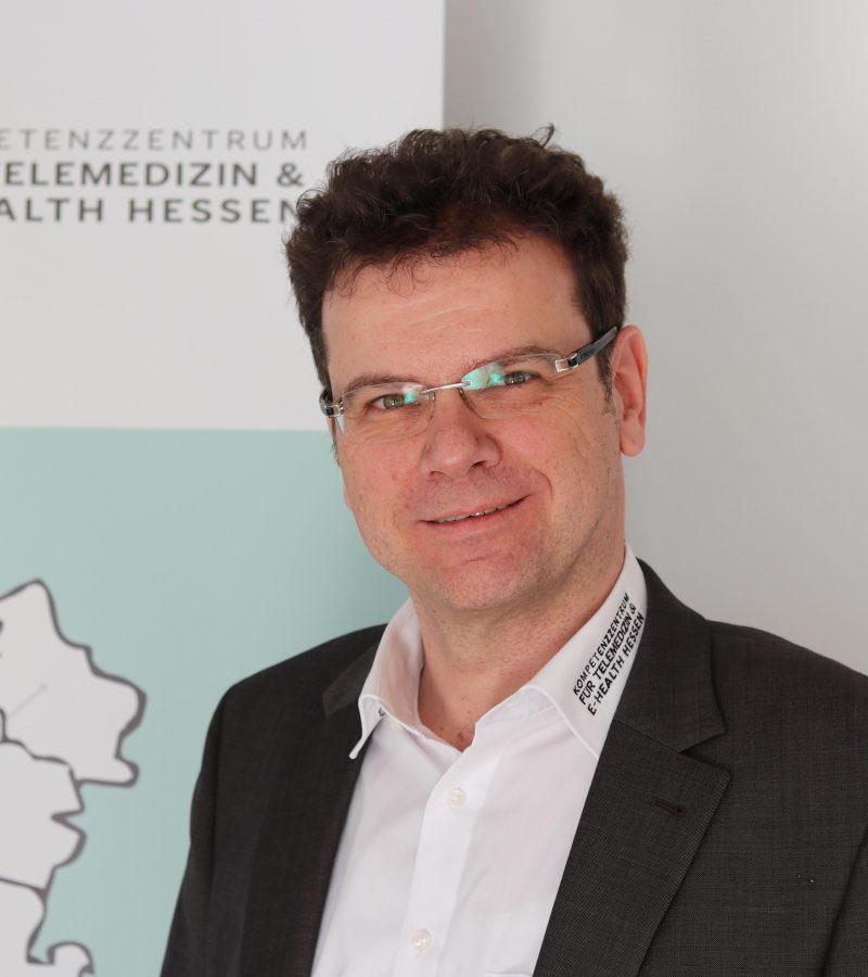 Armin Häuser, Geschäftsführer des Kompetenzzentrums für Telemedizin und E-Health in Giessen